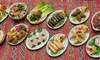 Leila Restaurant - London: Eight or 16 Meze to Share Plus Wine For Two or Four from £19 at Leila Restaurant (Up to 47% Off)