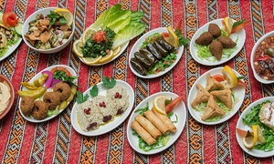 Leila Restaurant: Eight or 16 Meze to Share Plus Wine For Two or Four from £19 at Leila Restaurant (Up to 47% Off)