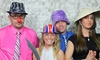 The iLOVE Team: Three- or Four-Hour Photo Booth Rental from The iLOVE Team (50% Off)