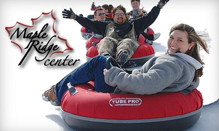 Maple Ridge Center - Lowville: $5 for One Admission to Maple Ridge Snow Park at Maple Ridge Center