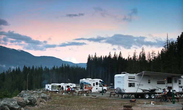 Whistler RV Park and Campground - Whistler: Two Days and Two Nights of Tent or RV Camping at Whistler RV Park and Campground