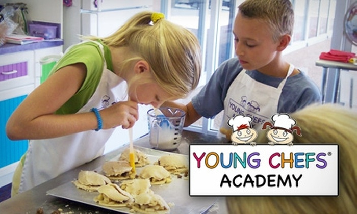 Young Chef's Academy - Stone Oak: Children's Cooking Classes at Young Chef's Academy. Choose from Three Options.