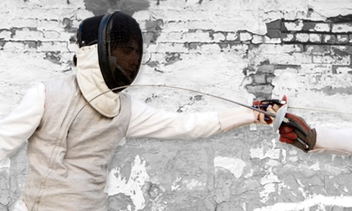 Blackstone Valley Fencing Academy - Woonsocket: $52 for Six Weekly Fencing Lessons at Blackstone Valley Fencing Academy in Woonsocket ($105 Value)