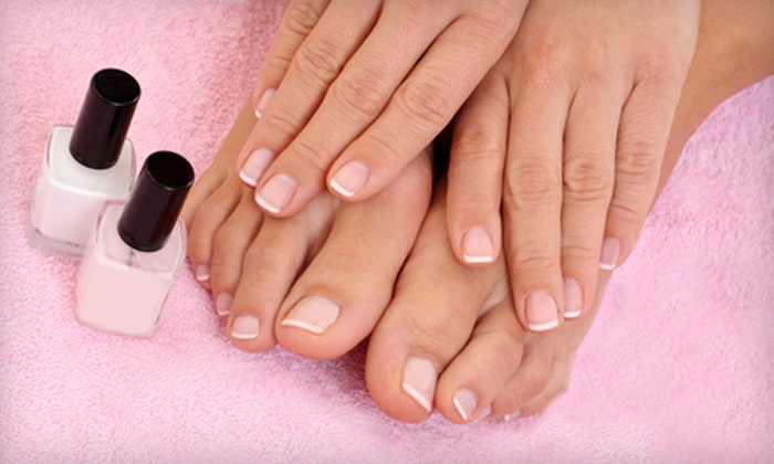 The Atelier - Egypt Lake-Leto: 1, 3, 6, or 12 Signature Mani-Pedis at The Atelier (Up to 65% Off)