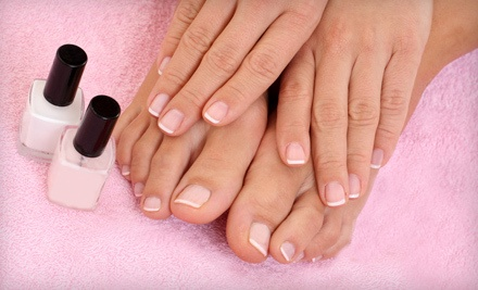 12 Signature Manicure and Pedicure (a $720 value) - The Atelier in Tampa
