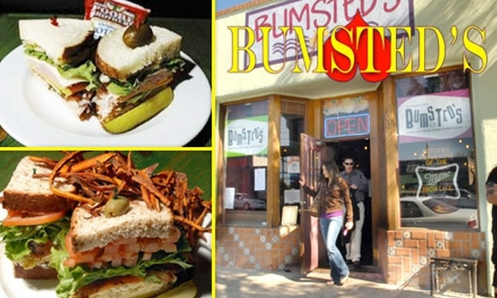 Bumsted's - West University: $10 for $20 Worth of Eclectic Bar Fare and Drinks at Bumsted's
