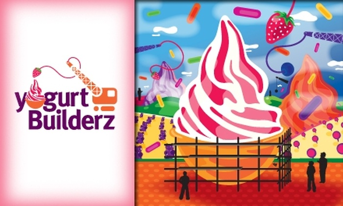 Yogurt Builderz - Phoenix: $5 for $10 Worth of Customizable Fro-yo at Yogurt Builderz