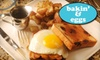 Bakin' & Eggs - Lakeview: $7 for $15 Worth of Classic Breakfast and Lunch Fare at Bakin' & Eggs