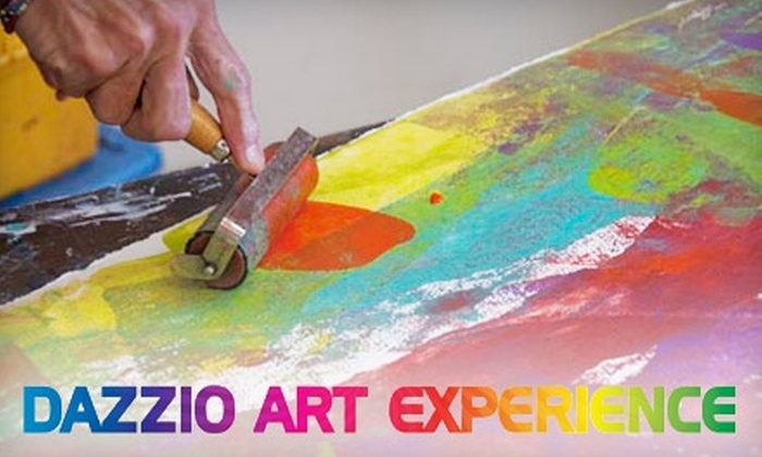 Dazzio Art Experience - Downtown St. Petersburg: $45 for Four Weeks of Half-Day Art Classes at Dazzio Art Experience in St. Petersburg ($90 Value)