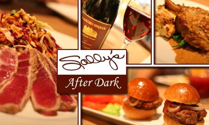 Sally's After Dark - Potrero: $25 for $50 Worth of Evening Meals and Libations at Sally's After Dark