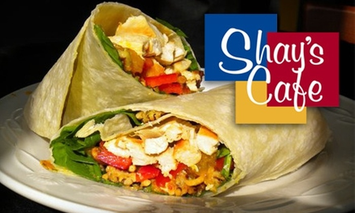 Shay's Cafe - Alameda: $5 for $10 Worth of Soups, Salads, and Sandwiches at Shay's Cafe in Alameda
