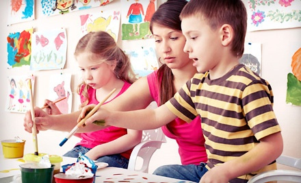 3 Art Classes for Children Ages 2-4 (a $30 value) - K.A.S. Gallery in Louisville