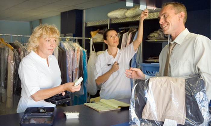 Shelton Family Cleaners - Old - Multiple Locations: Same-Day or Next-Day Dry Cleaning or Comforter Dry Cleaning at Shelton Family Cleaners (Up to 57% Off)