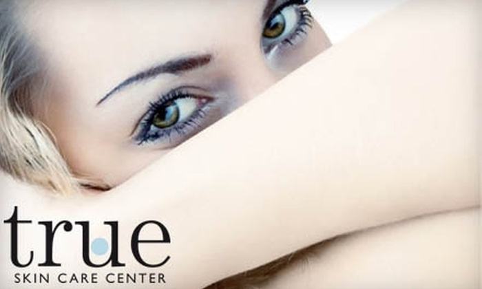 True Skin Care Center - Near North Side: $89 for TCA Facial Peel and Eye-Rescue Treatment at True Skin Care Center