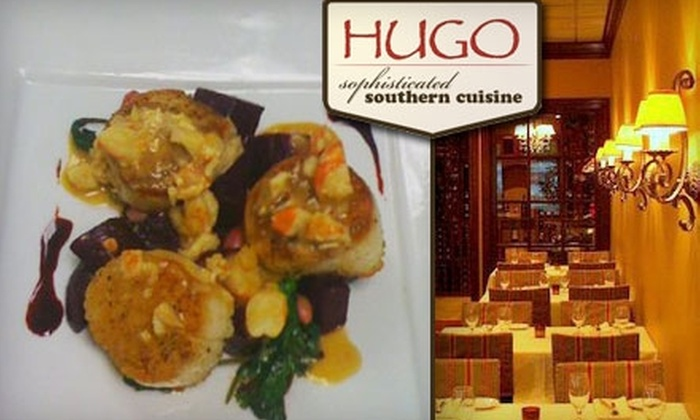 Hugo - Oakley: $20 for $40 Worth of Sophisticated Southern Cuisine and Drinks at Hugo