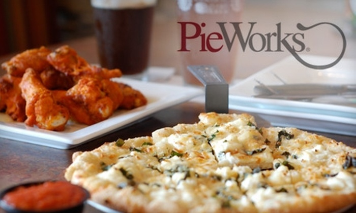 PieWorks Pizza by Design - Colony Crossing at Madison: $10 for $20 Worth of Pizza and Drinks at PieWorks Pizza by Design