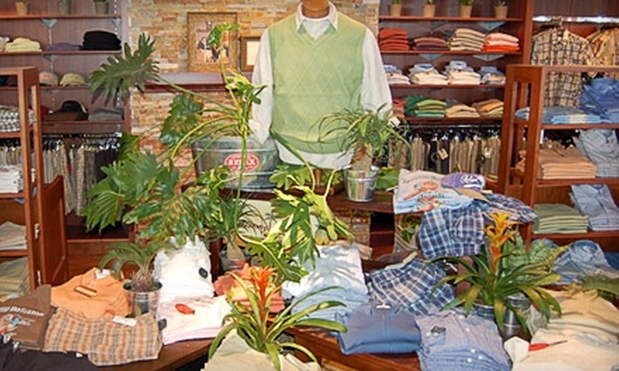 The Foursome Fine Apparel and Shoes - Plymouth - Wayzata: $35 for $70 Worth of Shoes and Men's Apparel at The Foursome Fine Apparel and Shoes in Plymouth