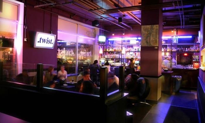 Twist Restaurant & Lounge - Belltown: $20 for $40 Worth of Food and Drinks From Twist Restaurant & Lounge