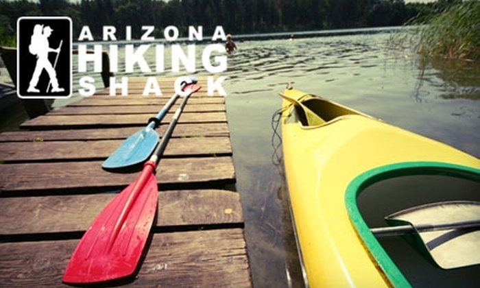 Arizona Hiking Shack - Paradise Valley: Kayak Rental at Arizona Hiking Shack. Two Options Available.