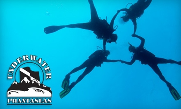 Underwater Phantaseas - Greenwood Village: $10 Discover Scuba Class at Underwater Phantaseas ($25 Value)