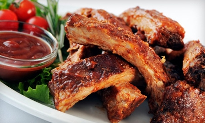 E & L Barbeque - Jackson: $5 for $10 Worth of Ribs, Wings, and More at E & L Barbeque