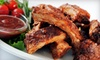 E & L - Jackson: $5 for $10 Worth of Ribs, Wings, and More at E & L Barbeque