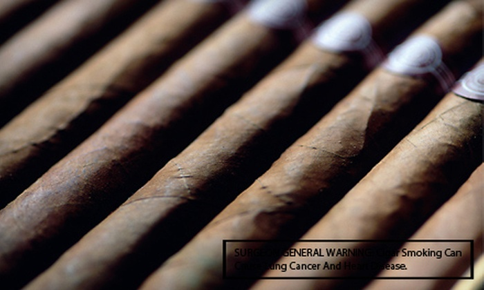 Stogies World Class Cigars - Great Uptown: $15 Toward Cigars and Smoking Accessories