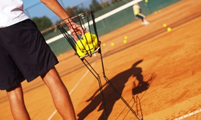 Harlan Hopchik - Allen: $60 for Two Private Tennis Lessons ($120 Value) or $50 for Five Group Lessons ($100 Value) from Harlan Hopchik
