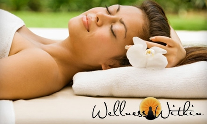 Wellness Within - Gariepy: Spa and Wellness Services at Wellness Within. Two Options Available.