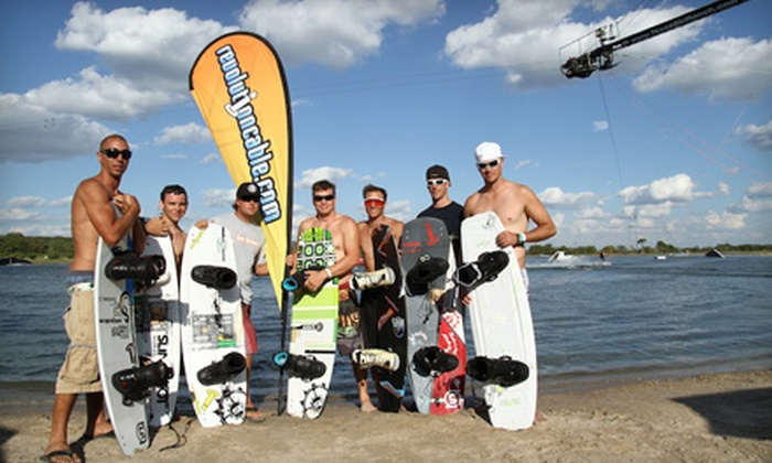 Revolution Cable Park - Colonial Acres: Two- or Four-Hour Cable Watersport Outing with Equipment Rental from Revolution Cable Park (Up to 55% Off)