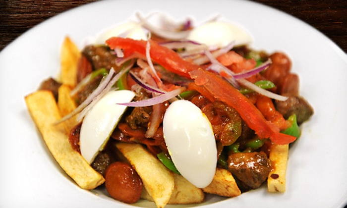 Cafe Sazon - Douglas Park: Dinner for Four, Lunch for Two, or $10 for $20 Worth of Latin Comfort Fare at Cafe Sazon in Arlington