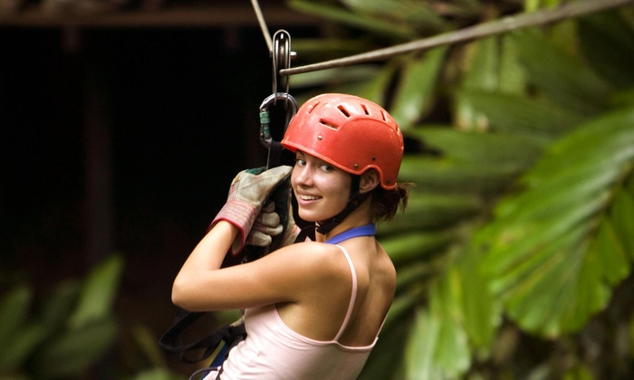 Botanical World Adventures - Big Island: Zip Line and Segway Tour Experience with One-Week Pass at Botanical World Adventures and Waterfalls (Up to 54%)
