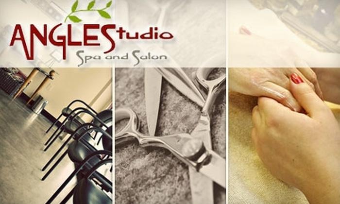 Angles Studio Spa and Salon - Grand Rapids: $25 for $50 Worth of Services at Angles Studio Spa and Salon