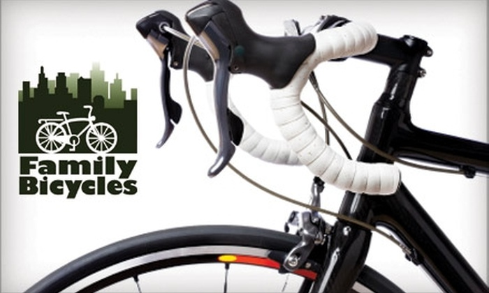 Family Bicycles - Ward Parkway: $35 for a Complete Bike Tune-Up at Family Bicycles ($75 Value)