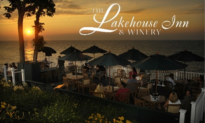 The Lakehouse Inn and Winery - Geneva-on-the-Lake: $22 for Two Wine-Tasting Trays and One Cheese Plate Plus a Bottle of Wine at The Lakehouse Inn & Winery in Geneva-on-the-Lake