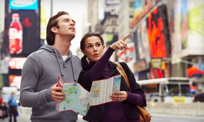 New York: The Game - Multiple Locations: $10 for Two Tickets to New York: The Game Scavenger Hunt and Tour ($20 Value)