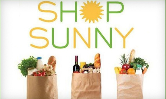 Shop Sunny: $10 for $20 of Delivered Groceries from Shop Sunny in Bradenton ($39.95 Value)