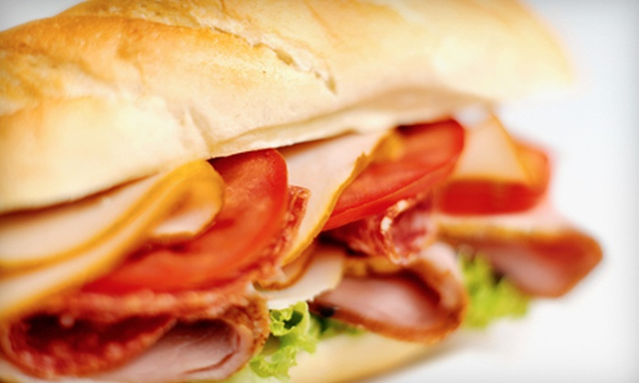 Nellie's Deli - Gulf Breeze: $12 for a Meal for Two with Sandwiches, Sides, and Drinks at Nellie's Deli (Up to $24.20 Value)