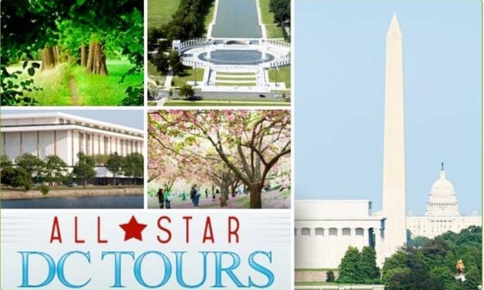 DC Tours - Washington DC: $20 for a DC Sightseeing Tour ($45 value)