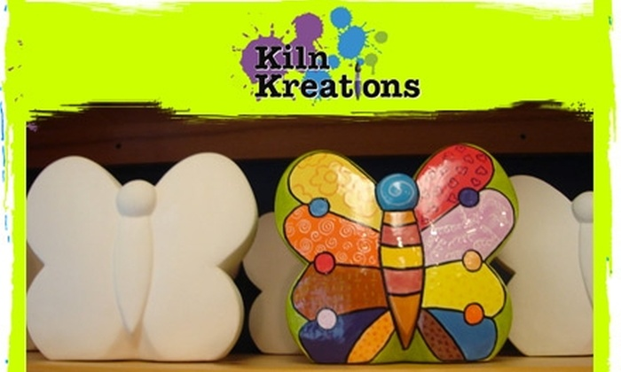 Kiln Kreations - Woodbury: $10 for $20 Worth of Paint-You-Own Pottery, Classes, and More at Kiln Kreations