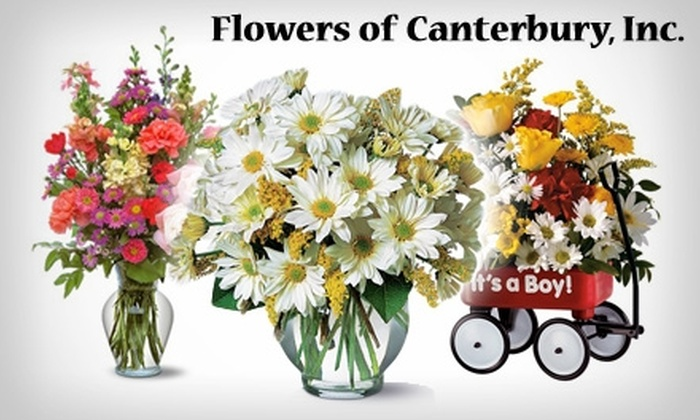 Flowers Of Canterbury - Ludwig Park: $17 for $35 Worth of Flowers, Greenery, and More at Flowers of Canterbury