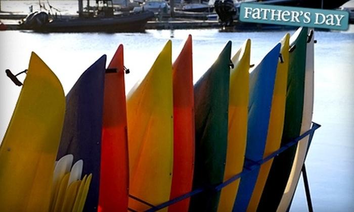 Kennebunkport Marina - Kennebunkport: $15 for Two-Hour Kayak Rental at Kennebunkport Marina ($30 Value)
