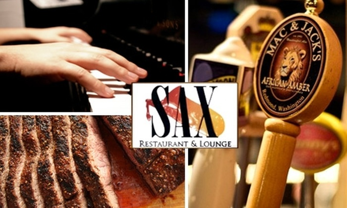 Sax Restaurant & Lounge - North End: $15 for $35 Worth of Italian Cuisine at Sax Restaurant & Lounge
