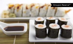 Shinju Sushi: Sushi Meal for Two or Four at Shinju Sushi. Groupon Reservation Required.