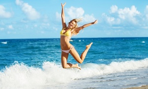 One, Three, or Five Versaspa Spray Tan Level 1 Sessions at Glimmer & Glow (Up to 57% Off)