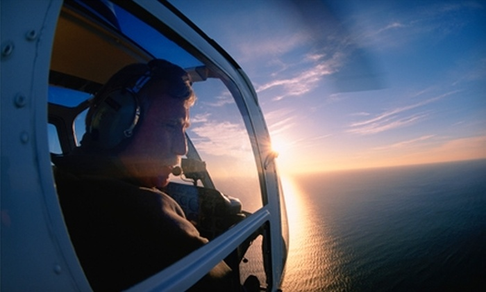 OC Helicopters - Santa Ana: $89 for a 20-Minute Helicopter Tour of Laguna Beach for One from OC Helicopters in Santa Ana ($179.99 Value)