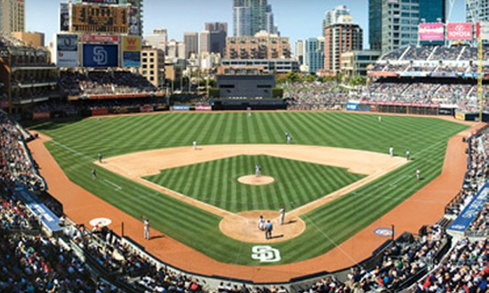 San Diego Padres Up To Off Ticket San Diego Padres At PETCO - Groupon baseball tickets