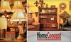 HomeConcept - Madison: $50 for $100 Worth of Lighting and Home Goods at HomeConcept