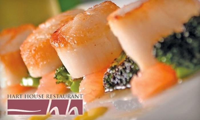 Hart House Restaurant - Morley-Buckingham: $20 for $40 Worth of Upscale Cuisine & Drinks at Hart House Restaurant
