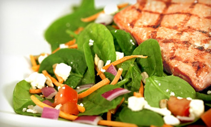 Salad Creations - Media and Entertainment District: $5 for $10 Worth of Fresh Salads, Sandwiches, and Other Healthful Fare at Salad Creations